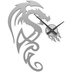 Zegar ścienny dragon  aluminium marki Calleadesign