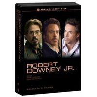 Robert Downey Jr. Pakiet 3 Filmów - Kolekcja Ikony Kina (4 DVD)