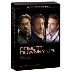 Robert Downey Jr. Pakiet 3 Filmów - Kolekcja Ikony Kina (4 DVD) - sprawdź w wybranym sklepie