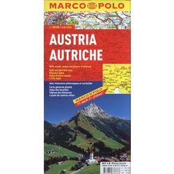 Austria MP mapa sam.1:300 000, pozycja wydana w roku: 2009