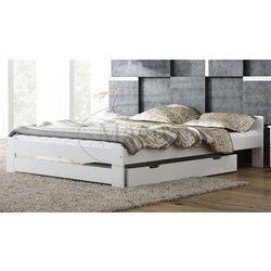 Łóżko drewniane Niwa 140x200 białe, kup u jednego z partnerów