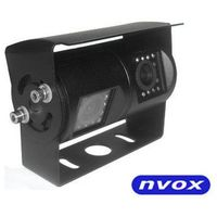 Nvox Samochodowa podwójna kamera cofania 4 pin ccd w metalowej obudowie 12v 24v