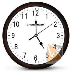 Esperanza zegar ścienny los angeles biały (ehc015w) szybka dostawa! darmowy odbiór w 21 miastach! (5901299930045)