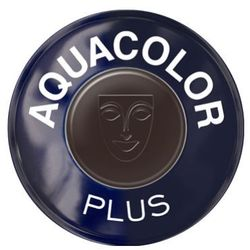 aquacolor plus (dark brown) farba do makijażu ciała - dark brown (1102) wyprodukowany przez Kryolan