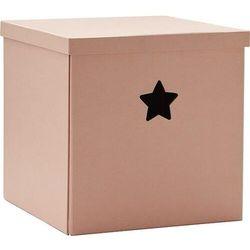 Kids concept Pudełko star różowe