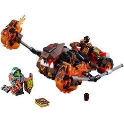 Lego NEXO KNIGHTS LAWOWY ROZŁUPYWACZ MOLTORA (Moltor's Lava Smasher) NEXO KNIGHTS 70313, klocki do zabawy
