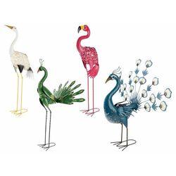 figurka ogrodowa ptak solarna led, 1 szt marki Melinera®