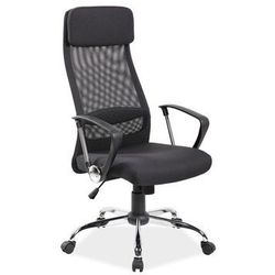 Signal Czarne obrotowe krzesło biurowe q-345