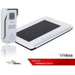 Zestaw wideodomofonu stacja bramowa monitor 7'' s6s_m690ws2 marki Vidos