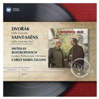 Dvorak, Saint-Saens: Cello Concertos - Mstislav Rostropowitsch (5099962307826)