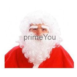 Peruka Mikołaj z brodą, kup u jednego z partnerów