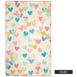 Selsey dywan do pokoju dziecięcego dinkley serca 100x160 cm