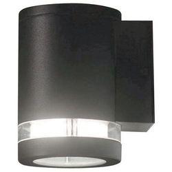 Zewnętrzna lampa ścienna magnus 1 ogrodowa oprawa elewacyjny kinkiet tuba outdoor ip44 ciemnoszara marki Elstead