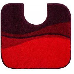 dywanik łazienkowy flash, ruby czerwony, 55x60cm marki Grund