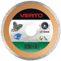 Verto Tarcza do cięcia  61h3t1 115 x 22.2 diamentowa pełna (5902062070814)