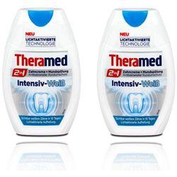2X THERAMED WHITENING 2W1 PASTA DO ZĘBÓW WYBIELAJĄCA 75ML - produkt z kategorii- Pasty do zębów
