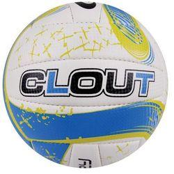 Piłka siatkowa SPOKEY 834043 Clout II Żółto-Niebieski (rozmiar 5) z kategorii Siatkówka