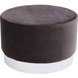 :: puf cherry dark grey silver marki Kare design