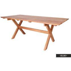 SELSEY Stół ogrodowy Ivaran 200x90 cm