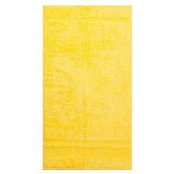 Night in colours Bade homeręcznik bamboo żółty, 50 x 90 cm