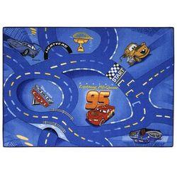 dywanik do zabawy auta, 95x133 cm, niebieski, cars woc 77 marki Ak sports
