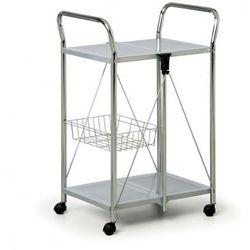 Składany wózek wielofunkcyjny, szaro-srebrny - sprawdź w wybranym sklepie