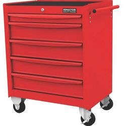 Wózek warsztatowy na kółkach 5-szufladowy 300kg Senator SEN5941550K