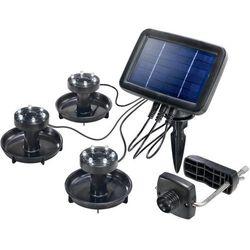 Renkforce Solarny zestaw oświetlenia  pl 133, 6500 k, biały, zimny, ip44, (sxwxg) 14.6 x 10.5 x 2.8 cm