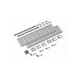 Panel na narzędzia i pojemniki, 18 uchwytów na narzędzia (4006676018635)