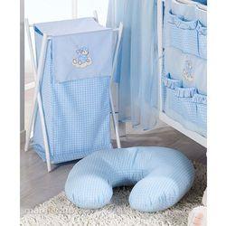 kosz na bieliznę śpioch na chmurce w błękicie marki Mamo-tato