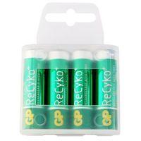 4 x akumulatorki GP ReCyko+ R6 AA 2000mAh (box), kup u jednego z partnerów