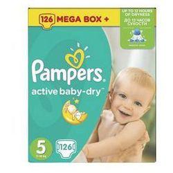 Pieluszki Pampers Active Baby-dry rozmiar 5 Junior, 126 szt., kup u jednego z partnerów