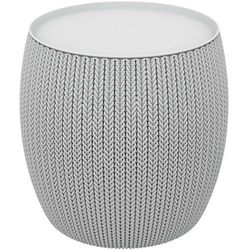 knit single table (cozies) stolik - szary marki Keter