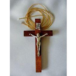 Krzyż lektorski drewniany, ciemny marki Produkt polski