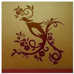 Wally - piękno dekoracji Szablon malarski przepiórka kwiaty 1232