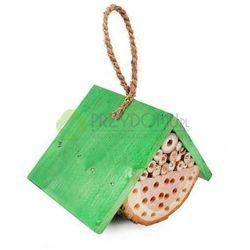 Domek dla owadów mały zielony TD097, towar z kategorii: Pozostałe poza domem