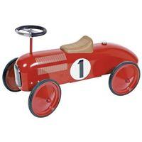 Jeździk czerwona metalowa wyścigówka (4013594141352)