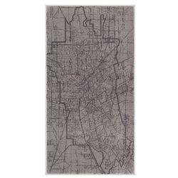 Dywan Soft City 80 x 150 cm popielaty