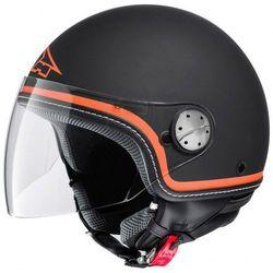 Kask AXO SUBWAY czarno-pomarańczowy ze sklepu StrefaMotocykli.com