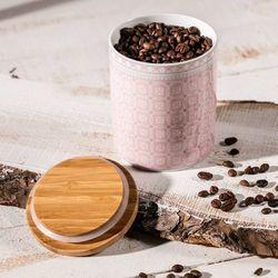 pojemnik deco pink wys. 12cm, 10 × 10 × 12 cm marki Dekoria