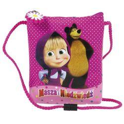 Masza i Niedźwiedź, saszetka na sznurku z kategorii Saszetki dla dzieci