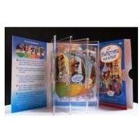 Praca zbiorowa O świętych dla dzieci album (5 x dvd )