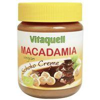 Masło czekoladowe z orzechami macadamia VEGAN BIO 250g - Vitaquell
