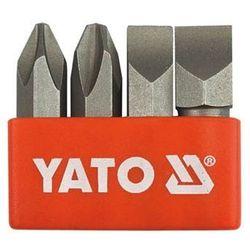 Yato Zestaw bitów do wkrętaków udarowych ph2, ph3, 8 mm, 10 mm yt-2812 - zyskaj rabat 30 zł (5906083928123