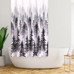 4Home Zasłona prysznicowa Forest, 178 x 183 cm, 229696