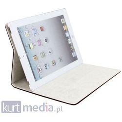 Etui Qoltec Premium do iPad3/iPad4, czarny (etui na tablet)