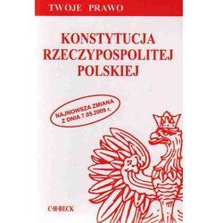 Konstytucja Rzeczypospolitej Polskiej (kategoria: Prawo, akty prawne)