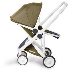 Greentom, Upp Reversible, wózek spacerowy, biały-oliwka - produkt z kategorii- Wózki spacerowe