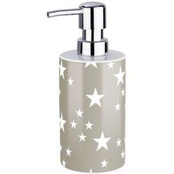 Wenko Ceramiczny dozownik do mydła stella taupe,