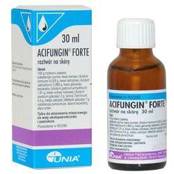 Acifungin forte płyn do stos.na skórę - 30 ml - produkt farmaceutyczny